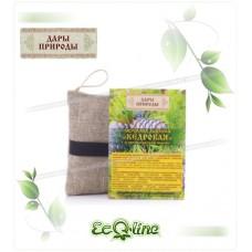 Мочалка льняная с органическим мылом «Кедровая»